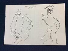 Expressionniste expressionnisme anonyme 1970  Joueurs de Boulles