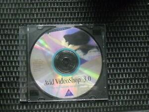 Vintage, 1995, Avid VideoShop 3.0 for Apple Mac OS 7.x to 9.x, Installation CD