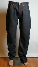 ED HARDY Jeans Men's Original Design Decorated Art W32 L34 New Punk Style Great