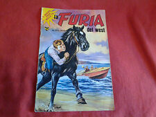 Raro fumetto LA FURIA DEL WEST Serie Tv anni 70 n°38 1977 Editoriale Cenisio