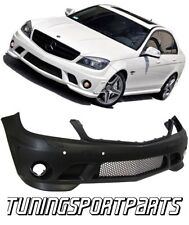 FRONT BUMPER FOR MERCEDES W204 CLASS-C C65 07-11 PDC AMG LOOK SPOILER BODY KIT