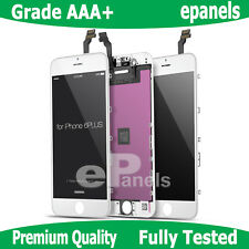 """A1524 Replacement 5.5"""" Apple iPhone 6Plus Touch Screen Digitizer Glass LCD White"""