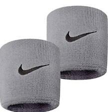 Nike Swoosh Wristbands Set of 2 Gray
