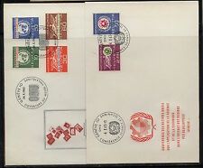 Switzerland  UN  stamps on  2 covers     KL0228