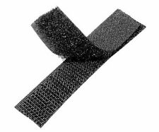 10mm Wide, Black, Sew On, Hook and Loop Tape
