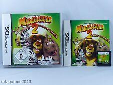 Madagascar 2 II für Nintendo DS/Lite/XL/3DS - OVP+Anl. - Sehr guter Zustand