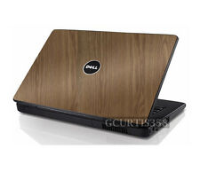 WOOD Vinyl Lid Skin Cover Decal fits Dell Inspiron 1525 1526 Laptop