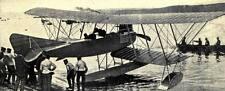 German Air Force Sea Plane World War 1, 7x3 inch Reprint Photo a
