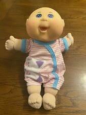 Cabbage Patch 2015 Baby Girl Preemie Doll - Blue Eyes Bald Kitty Cat Outfit EUC