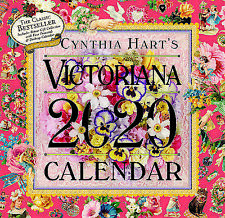 Cynthia Hart's Victoriana 2020 Square Wall Calendar by Workman FREE POST