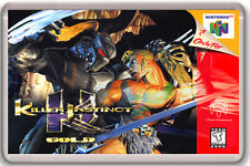 KILLER INSTINCT GOLD NINTENDO 64 N64 FRIDGE MAGNET IMAN NEVERA