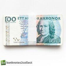More details for sweden: 20 x 100 swedish krona banknotes.
