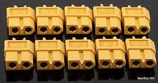(10) Genuine AMASS Female XT60 / XT-60 Battery Bullet Connectors Plugs