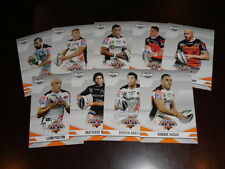 2013 NRL ELITE TEAM SET OF 9 CARDS WEST TIGERS