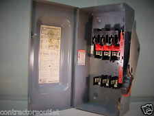 NOS Square D H362 60A 600V 3 Pole Fusible Type 1 Heavy Duty Safety Switch