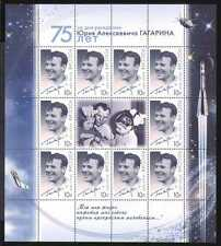 Russia 2009 Gagarin/Space/Satellite/Moon 10v sht n25885