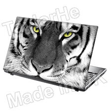 "TaylorHe 13""-14"" Laptop Skin Cover Vinyl Sticker Decal Wild Animal Tiger Face"
