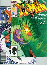 Uncanny X-Men #180 and #181 Classic Young Dragons in Love