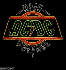 AC/DC cd lgo ELECTRIC / HIGH VOLTAGE Official Child Toddler KID SHIRT 2T new