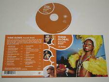 THINK GLOBAL/ACÚSTICO BRAZIL/VARIOS ARTISTAS(THINK107CD) CD ÁLBUM