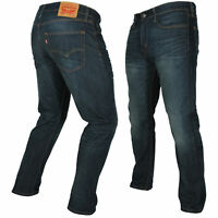 Levi's Mens 502 Regular Tapered Fit Jeans (0004 Rosefinch)