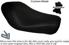 Negro Stitch Custom encaja Harley Sportster Low Iron 883 Solo cubierta de asiento