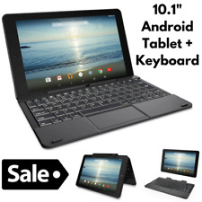 Android Tablet 10inch With Keyboard for Kid and Adult 32GB Quad Core Touchscreen