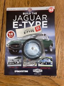 Deagostini Build Your Own 1/8th Jaguar E- type Issue 53
