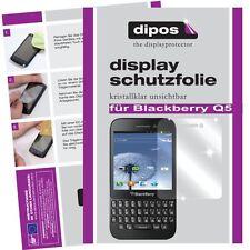 Blackberry Q5 Protector de Pantalla protectores transparente