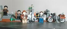 Lego Indiana Jones Set 7196 Chauchilla Cemetery Battle Complete with 5 Minifigs