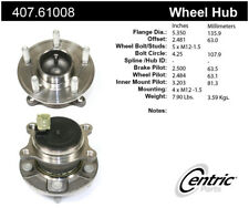 Wheel Bearing and Hub Assembly-S, FWD Rear Centric fits 12-14 Ford Focus