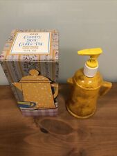 Avon Country Style Coffee Pot W/7oz hand Lotion In Box. Free gift with purchase.