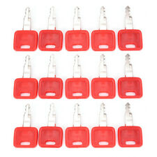 Heavy Equipment Ignition Keys for Hitachi H800 Red Excavator Key Switch Parts