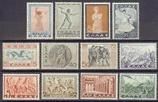 Greece 1937 Sc# 396/408  History MNH