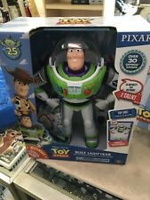 Toy Story Talking Buzz Lightyear Deluxe Action Figure Disney Thinkway NEW 2020