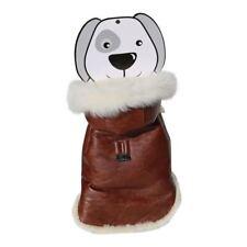 fourrure d'agneau - Gilet de chien 01 Manteau pour Veste en Mérinos véritable