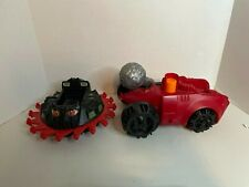 Masters of the Universe Bashasaurus and Roton Evil Assault Vehicle! Used He-Man