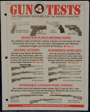 Magazine GUN TESTS, October 2008 SMITH & WESSON Model 431PD .32 H&R Mag REVOLVER