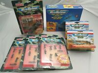 7x Playset: Galoob Micro Machines Military Sammlung u.a Battle Zones Air Battle