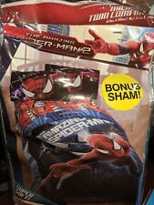The Amazing Spider-Man 2 Twin Comforter with Bonus Sham