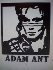 LOVELY EMBROIDERED  TOWEL ADAM ANT IMAGE/ALSO ,MADONNA,BOWIE,BETTYBOOP