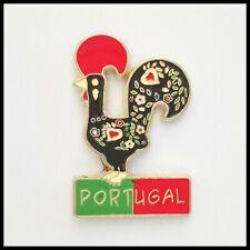 Portugal Rooster Metal Magnet Souvenir Travel Refrigerator