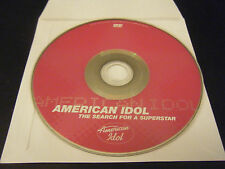 American Idol: The Search for a Superstar (DVD, 2002) - Disc Only!!!