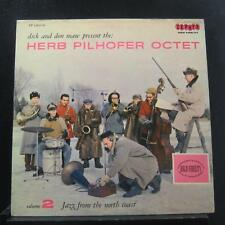 Herb Pilhofer Octet - Volume 2: Jazz From The North Coast LP VG+ ZP 12013-G Mono