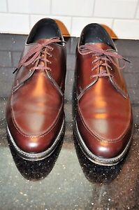 CLASSIC E.T. WRIGHT OXBLOOD LEATHER LACE UP OXFORDS ARCH PRESERVER SZ 11 D/B