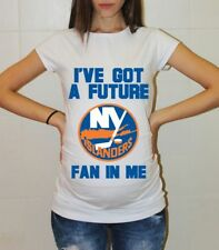 New York Islanders Baby Shower Maternity Shirt Hockey Pregnancy T-Shirt Baby
