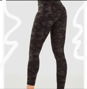 Brand New Fabletics High Waist Camouflage Powerhold  Booty Boost Leggings 1X