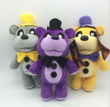 Hot WALMART Golden Freddy Plush Five Nights at Freddy's FNAF Toy 30CM 3pcs