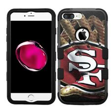 for iPhone 8 Plus Rugged Rubber+Hard Hybrid Case San Francisco 49ers #Glove