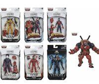 🔥🕷🕸👽🔥🕷SET Marvel Legends BAF Venompool wave Spider-Man Max Venom Carnage